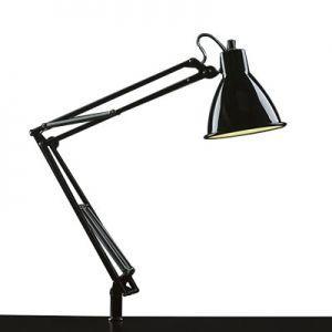 生産完了品 山田照明 スタンドライト クランプ式 電球形蛍光灯EFA10形(電球色)×1 ブラック Zライト Z-00B dendenichiba