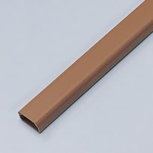 サンワサプライ 壁面用ケーブルカバー 角型タイプ 幅22mm 長さ1m 両面テープ付 ブラウン CA-KK22BR dendenichiba