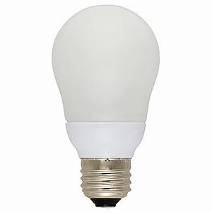 オーム電機(OHM) 電球形蛍光灯 エコなボール A形 白熱電球40W形相当 昼光色 E26口金 EFA10ED/8N|dendenichiba