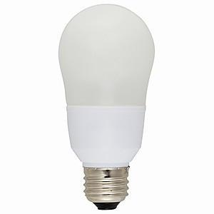 オーム電機(OHM) 電球形蛍光灯 エコなボール A形 白熱電球60W形相当 電球色 E26口金 EFA15EL/12N|dendenichiba