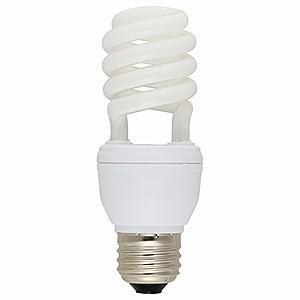 オーム電機(OHM) 電球形蛍光灯 エコなボール スパイラル形 白熱電球60W形相当 電球色 E26口金 EFD15EL/12N|dendenichiba