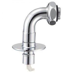 三栄水栓製作所 洗濯機用L型ニップル 曲げ角度:90° 自動ストップ機能付 PY122-40TVX-16