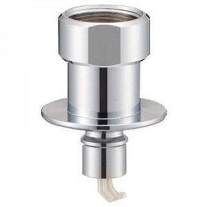 三栄水栓製作所 洗濯機用ニップル ネジサイズ:W26山20 自動ストップ機能付 PT3310