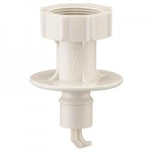 三栄水栓製作所 洗濯機用ニップル ネジサイズ:W26山20 自動ストップ機能付 PT3350