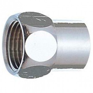 三栄水栓製作所 ガイド付袋ナット T13用 呼び20(G3/4めねじ) 黄銅製 穴径:20.4mm T134-20X20