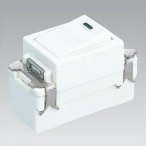 東芝 片切スイッチB 15A 300V ニューホワイト E'sスイッチ NDG1111(WW)|dendenichiba