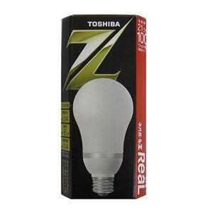 生産完了品 東芝 電球形蛍光灯 電球100WタイプA形 3波長形電球色 E26口金 ネオボールZ リアル EFA25EL21R dendenichiba