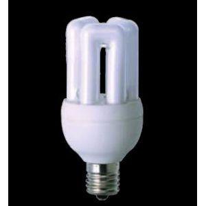 生産完了品 東芝 電球形蛍光灯 D形 ミニクリプトン電球40Wタイプ 3波長形電球色 E17口金 ネオボールZ EFD10EL9E17 dendenichiba