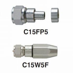 マスプロ BS・CS用 F型コネクターセット 5Cケーブル用 C15K5-P|dendenichiba