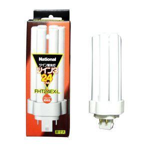 パナソニック ケース販売 10個セット コンパクト形蛍光灯 24W 3波長形電球色 FHT24EX-L_set|dendenichiba