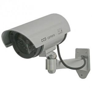 マザーツール 屋外設置型ダミーカメラ 壁面取付タイプ 疑似赤外線LED点灯 DC-027IR dendenichiba