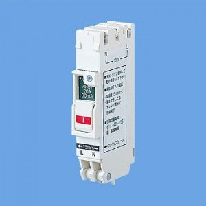 パナソニック コンパクト漏電ブレーカ SHE型 1Cモジュール 30A 2P2E 15mA BSHE23022 dendenichiba