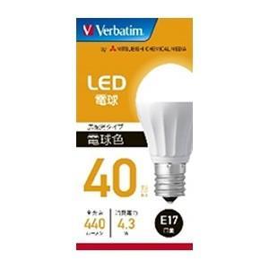 三菱ケミカルメディア LED電球 ミニクリプトン形 40W形相当 電球色 E17口金 LDA4L-E17-G/LCV2 dendenichiba