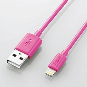 ELECOM USBケーブル Lightningコネクタ対応 2重シールドタイプ 長さ0.1m ピン...