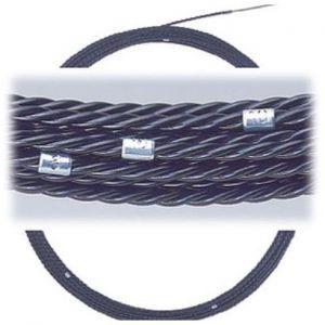 マーベル Jetライン メジャー メーター相当目盛付 長さ:30m 線径:Φ5.7mm 破断荷重:6.4kN(650kgf) 使用安全耐荷重:2.9kN(295kgf) MW-6030M dendenichiba