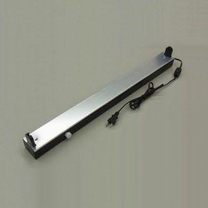 在庫限り 電材堂 工事不要 直管型照明器具 コンセント式 使用蛍光灯:FL20(別売り) 50Hz(東日本用) 本体カラー:ブラック FLX20BK|dendenichiba