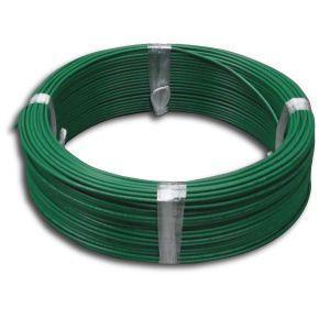 電材堂 600V ビニル絶縁電線 アース線 単線 1.6mm 100m巻 緑 IV1.6×100mミドリ