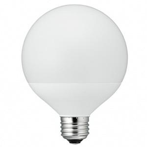 電材堂 LED電球 G70ボール形40W相当 広配光タイプ 電球色 E26口金 密閉型器具対応 LDG4LG70DNZ|dendenichiba