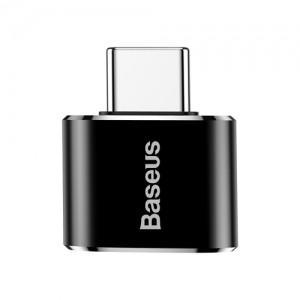 電材堂 USBハブアダプター USB〜Type-C ブラック DCATOTG01|dendenichiba