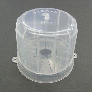 カワグチ 屋内用透明ジョイントボックス ナイスハット Hタイプ 改良型 10個入り ナイスハットH_改良型 dendenichiba