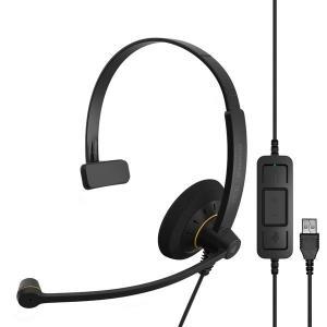 ゼンハイザー EPOS 片耳有線USBヘッドセット SC30USBML|dendenichiba