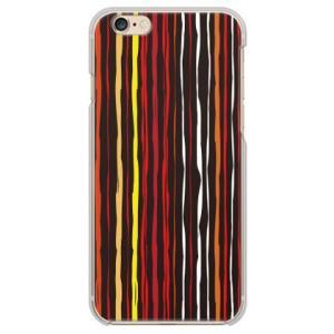 iPhone 6/6s ケース カバー (ペイントストライプ...