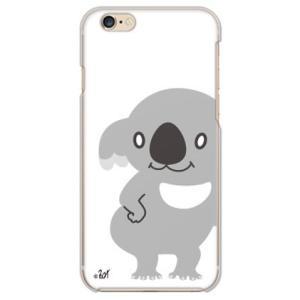 iPhone 6/6s ケース カバー (ウチュウ犬「コアラ」)