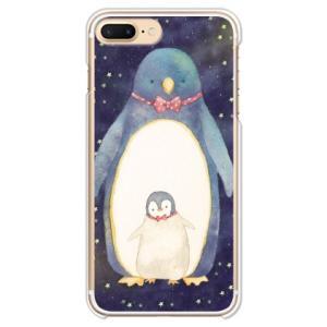 design by MEKO お揃いの蝶ネクタイでおめかしした親子ペンギンです。スマートフォンアクセ...