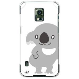 ギャラクシー GALAXY S5 Active SC-02G ケース カバー (ウチュウ犬「コアラ」...