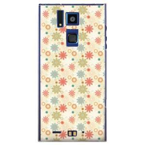・女性らしい花柄がかわいいdocomo REGZA Phone T-02D/SoftBank ARR...