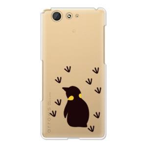 design by 盛茂あみず ペンギンの後ろ姿が可愛いスマホケース  ・スマホケースの側面にはプリ...
