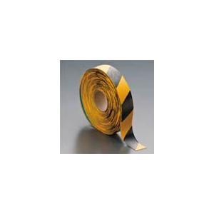 LP310 ラインプロ 幅50mm×長さ10m(トラ模様 黄/黒) 岩田製作所(IKS) ラインテープ|dendokiki
