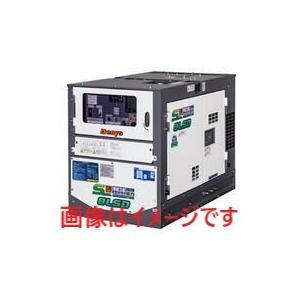 デンヨー (Denyo) TLG-8LSK-D サイマルジェネレータ ディーゼルエンジン発電機 (三相・単相3線同時出力機)|dendouki2