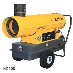 エクセン HI110D インダイレクトヒーター|dendouki2