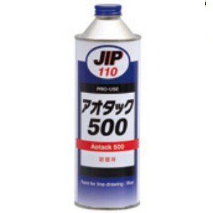 イチネンケミカルズ JIP110(品番00110) アオタック500 精密ケガキ用塗料 500ml|dendouki2