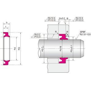 NOK パッキン LBI25334.56 (FQ0018C0) LBI型 ダストシール dendouki2