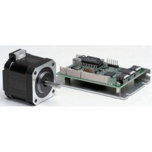 シナノケンシ CSA-UB42D1D 5相角駆動マイクロステップドライバセットステッピングモーター 両軸タイプ(取付42mm)|dendouki2