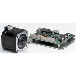 シナノケンシ CSA-UB56D5D 5相角駆動マイクロステップドライバセットステッピングモーター 両軸タイプ(取付56.4mm)|dendouki2
