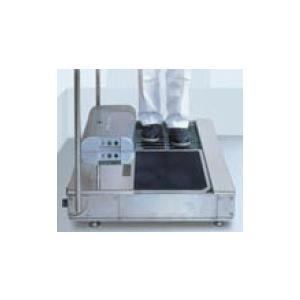 有光工業 GS-313DX 自動水中靴底洗浄機 吸水マット付オートマット ウエットタイプ 受注生産|dendouki
