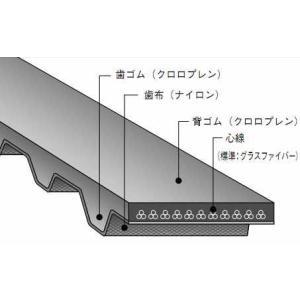バンドー化学 L形 シンクロベルト 660L050 ゴム