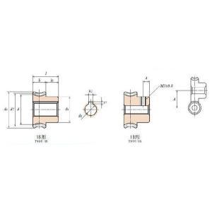 協育歯車工業 ウォームギヤ G1A30R1+6 dendouki