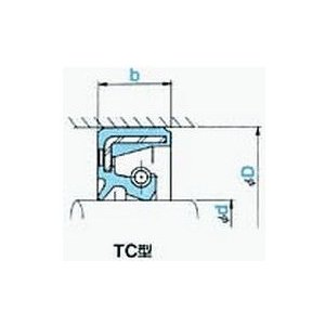 NOK オイルシール TC254010 (AE1315F0) TC型|dendouki