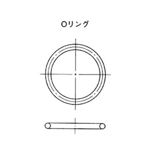 NOK Oリング JASO-2053 (CO0638A) 太さφ2.4シリーズ(固定用、運動用)|dendouki
