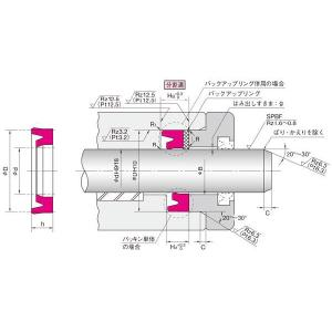 NOK パッキン IDI18288 (FU0182F0) ロッドシール専用パッキン IDI型|dendouki