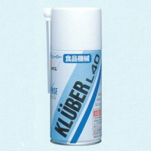 NOKクリューバー KLUBER L40 食品機械用離形・潤滑オイル 300ml|dendouki