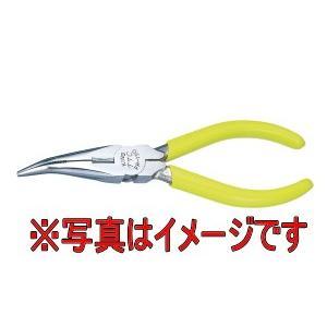 ツノダ TSUNODA FR-150 先曲りラジオペンチメッキ付|dendouki