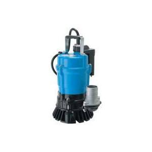 ツルミポンプ (鶴見製作所) HSE2.4S 水中ハイスピンポンプ 一般工事排水用 自動運転形 0.4kw 単相100V 50Hz|dendouki