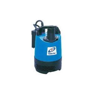 ツルミポンプ (鶴見製作所) LB-250A 水中ハイスピンポンプ 一般工事排水用 自動運転形 0.25kw 単相100V 60Hz|dendouki