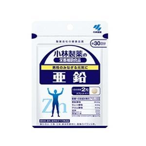 小林製薬の栄養補助食品  亜鉛 60粒(約30日分)|denergy