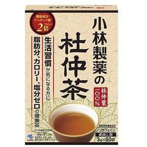 小林製薬 杜仲茶 3g×60袋 (白箱)